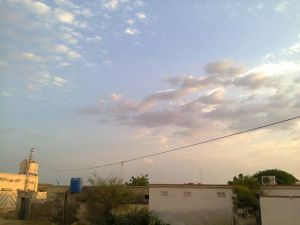 Picture by Abdul Jabbar - Clouds visible from Sindh