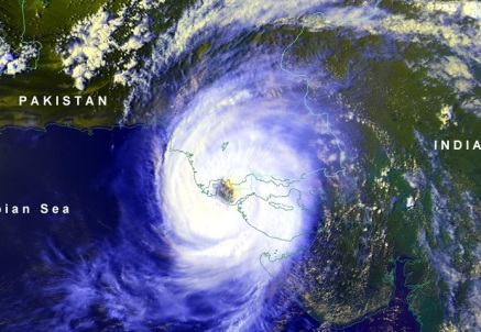Cyclone-Karachi