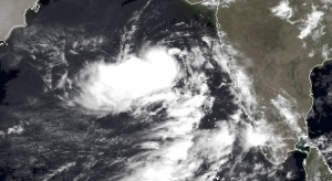 Tropical depression in the Arabian sea