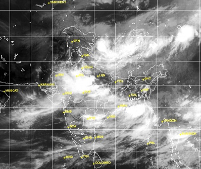 Monsoon Daily Updates For July Pakistan Weather Portal PWP - Live weather satellite images