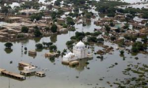 Pakistan flooded in 2010