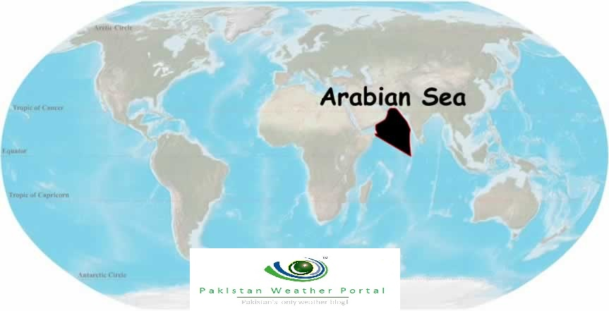 History of cyclones in the Arabian sea | Pakistan Weather Portal (PWP)