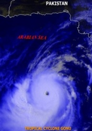 Pollute the Arabian sea for stronger Hurricanes before the Monsoon season!