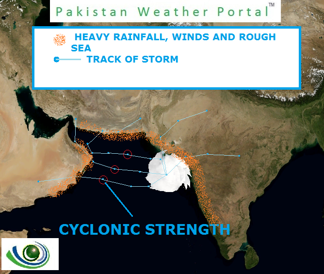Pakistan Weather Update & Monsoon and cyclone alert (June 4