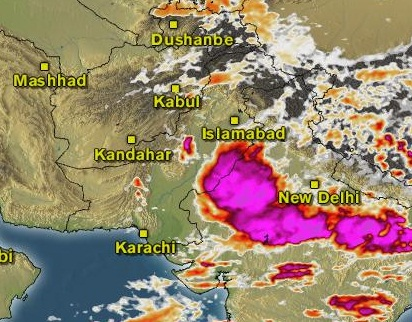 weather karachi sindh pakistan
