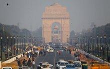 Haze over New Delhi!