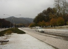 Hailstorm in Islamabad in 2010