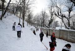 The famous Margalla Hill Snow