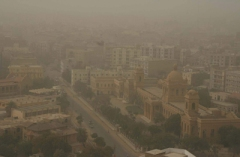 Dust storms in Karachi