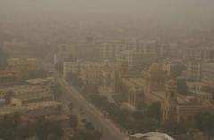 Dust storms in Karachi