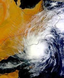 Cyclone Keila - Last cyclone in Oman