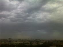 Karachi rain on April 19, 2012