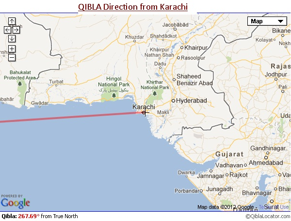 Portal Interactive: Locating the Direction of Qibla by ... on prevailing wind direction, change direction, one direction, earth's rotation direction, azimuth direction,