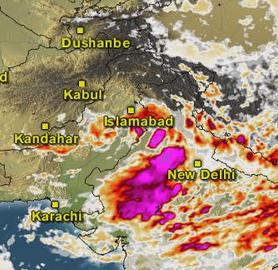Peshawar Weather Satellite Map - Today satellite map