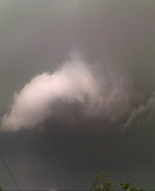 September 6 - Extremely Low lying clouds in Karachi