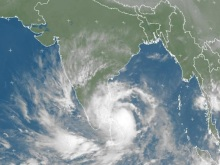 Cyclone 'Nilam' intensifying as of October 30