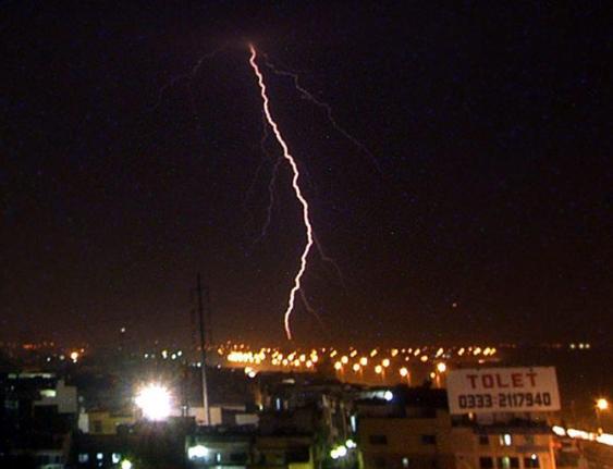 portal interactive intense lightning in karachi s history since