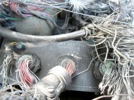 Unknown Electrical Object falls in Dadu from sky!