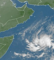 Christmas formation: Tropical storm forming in the Arabian sea – Special Coverage
