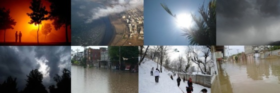 Pakistani  Weather of Year 2012