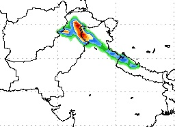 Extreme rainfall in the north!