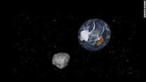 Artist impression of the Asteroid