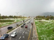 When Hailstorm painted Islamabad White!