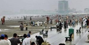 Beach of Karachi