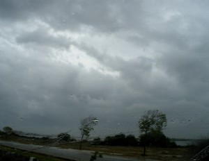 Dark clouds roared over Balochistan