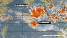 Cyclone Mahasen and Jamala