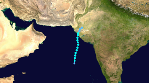 31May 1985 cyclone path