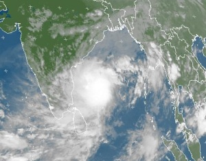 Cyclone Mahasen losing steam?