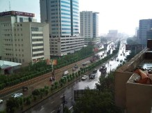 Karachi witnessed freak rain in July
