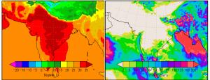 Temperature and Precipitation in late May