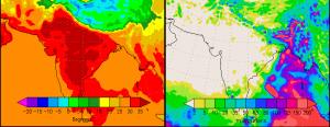 Temperature and Precipitation in May