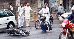 Brief showers in June in Karachi