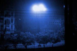 Mid-night heavy pre-monsoon rain in Karachi