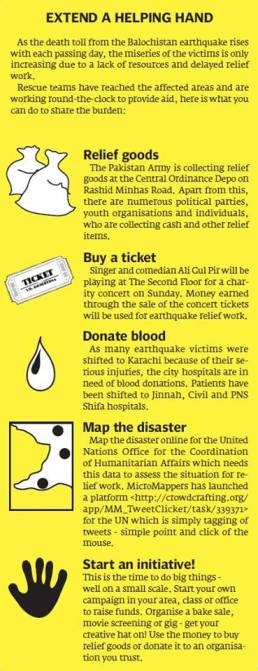 How to help the Earthquake victims