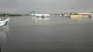 Islamabad Airport sub-merged