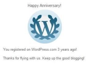 PWP-3rd Anniversary