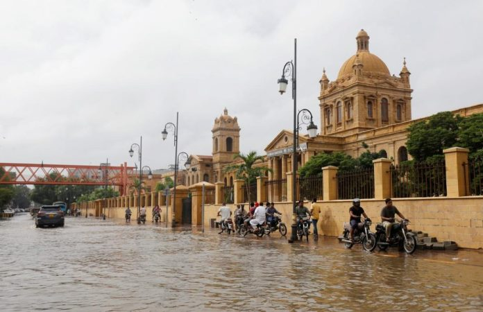A common sight during the monsoon season