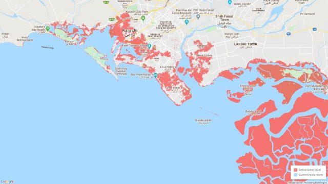Karachi Sea levels